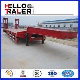 Wellen-niedriger Bett-LKW-Schlussteil China-50ton 3