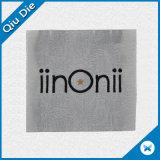Escritura de la etiqueta tejida hilado brillante delicado para la ropa de las mujeres