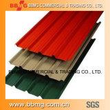 熱いPrepainted Dx51d Z120か冷間圧延された金属の建築材料の電流を通されたコイルまたはカラー上塗を施してある波形の屋根ふきの鋼板