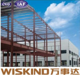 Structure de aço Prefabricated Frame Building com Sanwich Panel Design