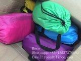 速く膨脹可能なたまり場OEMロゴによって印刷される不精な袋のソファーLaybag