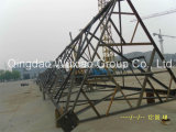 Триангулярная башня телекоммуникаций с штангой угла 60 градусов