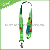 Hot Selling Cheap Polyester Custom Lanyard / Custom Ribbon
