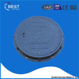 En124 SMC Composite Hinged Round Manhole Cover Made in China