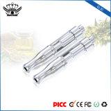 コイル0.5mlのガラス噴霧器の使い捨て可能な電子タバコの蒸発器のペンは二倍になる