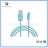 Оптовая 1m Красочные Мобильный телефон Micro USB Кабели для передачи данных, плоский кабель