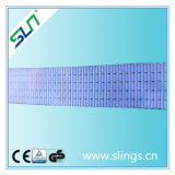 1t * 10m Polyester Double Eye Webbing Sling Safety Factor 6: 1