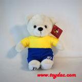 Peluche Football Ours