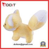 黄色のぬいぐるみFox柔らかい詰められたFox動物