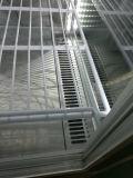 Vertikaler abkühlender Glasschaukasten der Bildschirmanzeige-vier mit dem Ventilator-Abkühlen (SC-238B)
