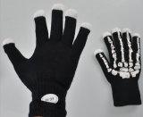 Alta calidad del partido del favor de los guantes de algodón LED parpadeante