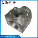 El trabajar a máquina de aluminio de aluminio/de acero el trabajar a máquina del metal del OEM del CNC de las piezas de aluminio