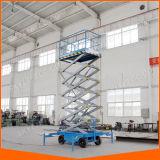 Il Mobile elettrico idraulico Scissor la piattaforma di funzionamento aerea