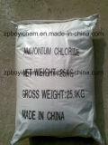 Empaquetado inglés tejido plástico del bolso del cloruro de amonio de la categoría alimenticia