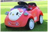 Olá! passeio do bebê do carro elétrico da vaquinha RC no brinquedo
