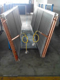Cambiador de calor de la bobina de la aleta del condensador de la eficacia alta