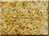 Pedra dobro sintética artificial de quartzo da cor