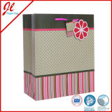Dekorativer Büttenpapier-Geschenk-Beutel-Blumenpapiergeschenk-Beutel