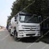 Sino HOWO 6*4 구체적인 1회분으로 처리 차량 구체적인 섞는 유조 트럭
