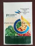 はさみ金が付いている肥料または供給のためのプラスチックPPによって編まれる袋