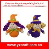Halloween 훈장 (ZY16Y514 34CM) Halloween 선물 아이디어 좋은 마녀 모자 훈장
