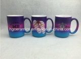 Taza del color del aerosol, taza del color del arco iris, conjunto promocional de la taza