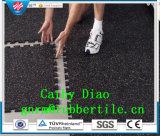 Vloeren van de Gymnastiek van de Levering van de Fabriek van China de Met elkaar verbindende, de RubberVloer van Sporten, de Mat van de Bevloering van de anti-Moeheid van de Mat van de Vloer van de Gymnastiek