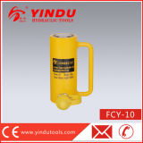Movimiento de 10 toneladas de largo gato hydráulico (FCY-10)