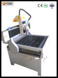 Máquina de aluminio del ranurador del CNC del acrílico del eje del hierro rotatorio del metal