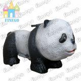 Электрической животной напольной идущей езда эксплуатируемая монеткой Kiddie автомобиля панды Scotter