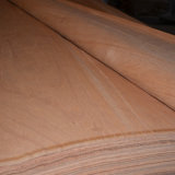 Roterend Vernisje 0.20mm van het Gezicht van het Hardhout van de Besnoeiing Rood dat voor Triplex wordt gebruikt