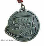A raça macia feita sob encomenda do esporte do esmalte concede a medalha com fita