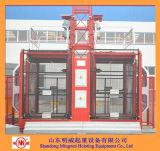 2 toneladas que construyen el alzamiento del levantador con el conductor de triple estado