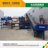 Boa linha de produção Semi automática das telhas concretas de desempenho de custo Qtj4-25