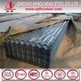 Folhas de aço onduladas da telhadura do metal do zinco de alumínio
