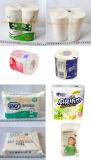 Пеленки пакета пеленки младенца машина пробной упаковывая