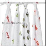 La mussola del bambino Swaddle il coperchio di professione d'infermiera di sonno della coperta fatto di cotone