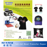papel de impressão de transferência do t-shirt do Inkjet 192GSM para as telas escuras (STC-T03)