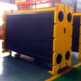 Gás Waste de alta temperatura/cambista de calor térmico da placa refrigerando de petróleo