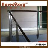 Balustrade en acier remplissante verticale intérieure d'Inox de balustrade (SJ-X1033)