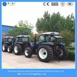 4つの車輪駆動機構の多重農業動かされた耕作トラクター200HP (185HP; 200HP)