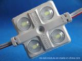 módulo impermeable de la inyección de 4chips 12V 5730 LED