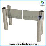 Torniquete rápido de luxe Th-Sgb201 da porta da barreira do balanço do aço inoxidável
