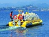 шлюпка таксомотора воды 28persons с внешними двигателями