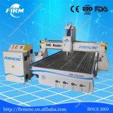 Máquina de gravura de madeira do router do CNC da porta da estrutura do estábulo de China Firmcnc FM- 1325 com servo motor