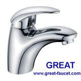 Faucet de água da alavanca do bom cromo único