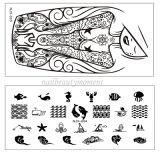 Оптовое искусствоо ногтя штемпелюя инструмент украшения Manicure плит (SNA21)