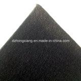 Geotêxtil não tecido preto dos PP para o reforço