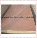 prix 12mm rouge de feuille de contre-plaqué de Bintangor de bois dur de 9mm