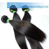 Os penteados naturais de 100% para o cabelo reto brasileiro fino longo aplicam-se